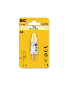 Lampa LED G4 12V 1,5W 150lm 3000K INQ LTG010WW