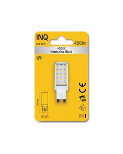Lampa LED G9 3,5W 400lm 4000K owal INQ LTG030NW