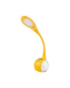 Lampka biurkowa i nocna LED MAGIC I RGB Nilsen żółta US014